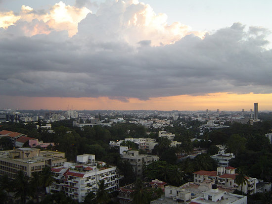 Bengaluru, India: Bangalore sunset