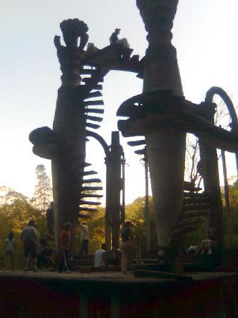Las Pozas de Edward James: Escaleras. Castillo surrealista de Eduard James. Xilitla, SLP