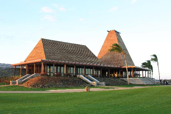 Natadola Bay Championship Golf Course: Natadola Bay - Clubhouse