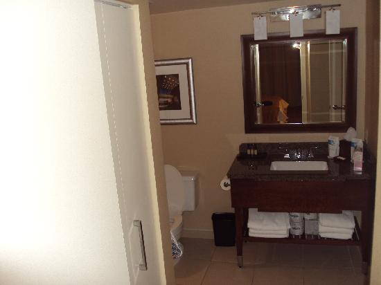 Towson University Marriott Conference Hotel: Bathroom