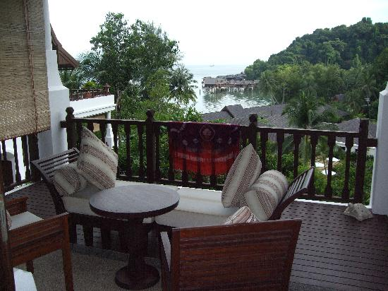 Pangkor Laut Resort: Hill Villa Balcony