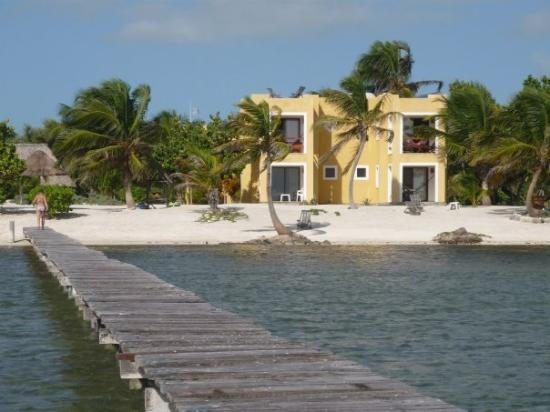 Casa Paraiso: Casa Carolina - view from dock