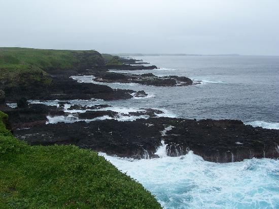 Phillip Island, Australia: Lookout near the Blow hole (The Nobbies)