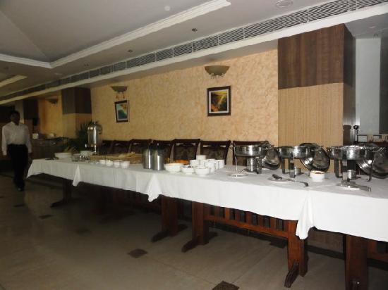 Comfort Inn Alstonia: Sumptous Breakfast Buffet