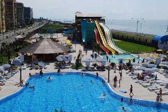 Batumi, Georgia: aqua park