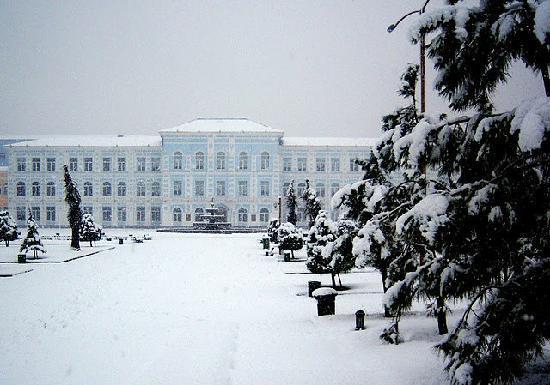 Snow in Batumi