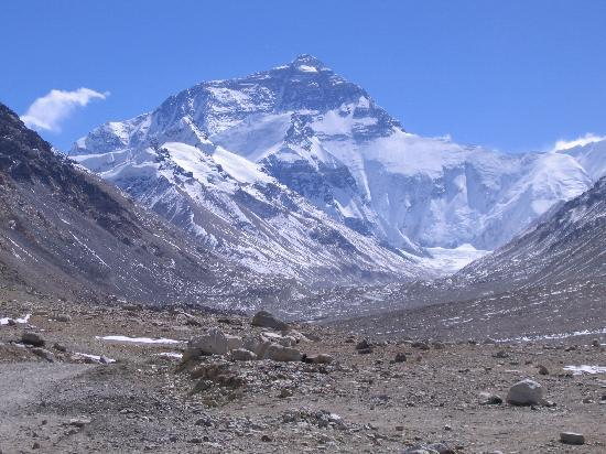 Mt. Everest Base Camp : Mother of all Mountain - View from EBC
