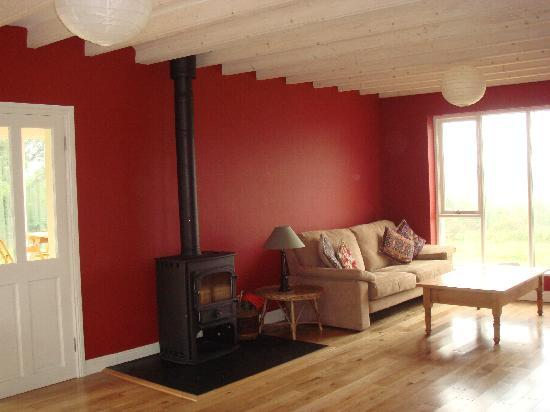South Reen Farm Retreat: sitting room