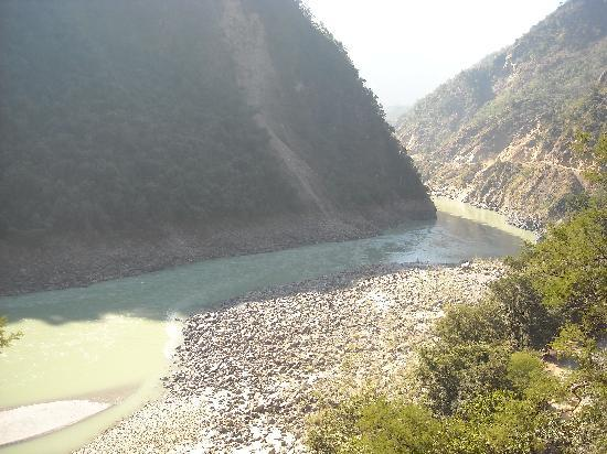 Rishikesh, India: View from the Camp - While Treking