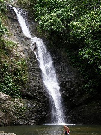 Shangri-La's Fijian Resort & Spa: The waterfall