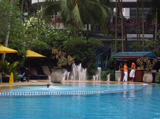 Tropical Pool Area Picture Of Shangri La Hotel Singapore Singapore Tripadvisor