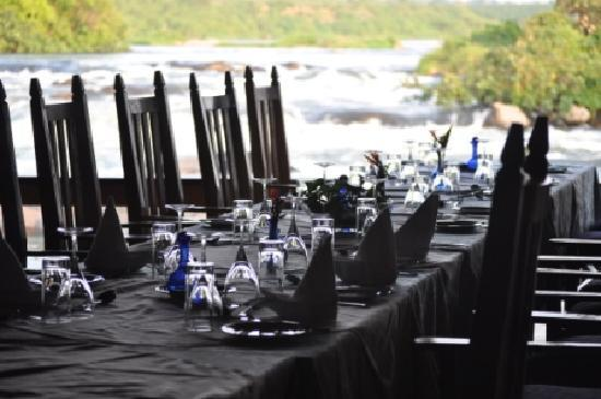 Wildwaters Lodge: Festive meals.