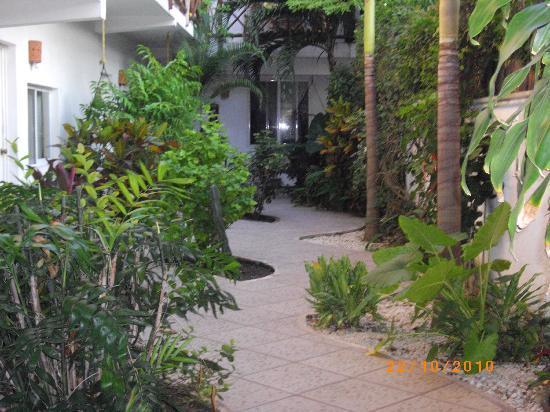 Las Tres Palmas Hotel: piano terra
