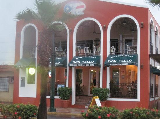 Don Tello: Restaurant entrance