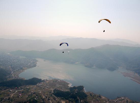 Maya Devi Village: Flying high!