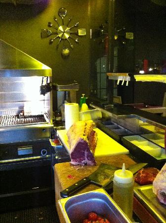 Ristorante Beccaio: Cucina a vista