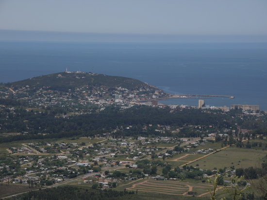 Vista desde la cima del cerro- Piriapolis