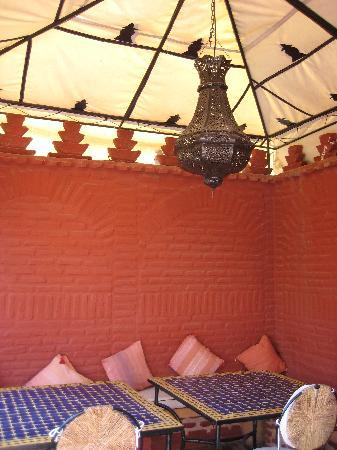Riad Eden: The terrace, where you can unwind in the afternoon or have breakfast in the morning