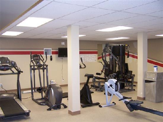 BCMInns - Hinton : Fitness room