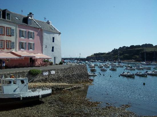 Belle-Ile-en-Mer, Frankrike: Sauzon et son petit port