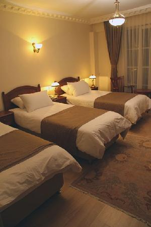 Basileus Hotel: trible room