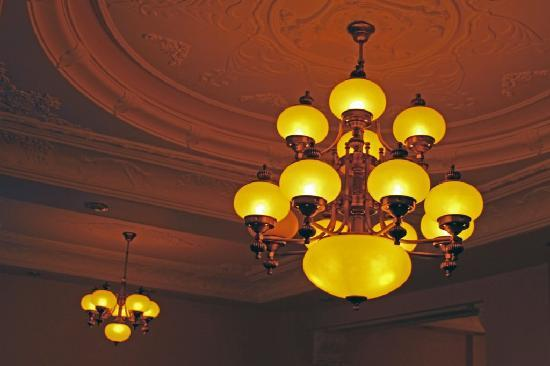 Basileus Hotel: loby celing