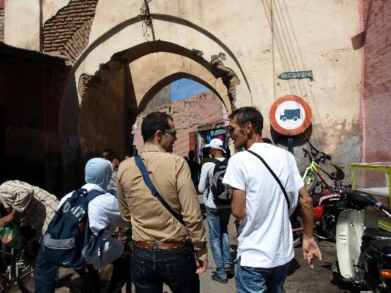 Riad Aguaviva: descubriendo callejones