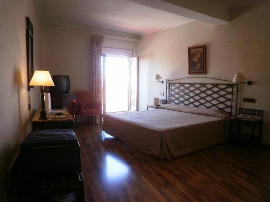 Hotel Palacio de Valderrabanos: chambre