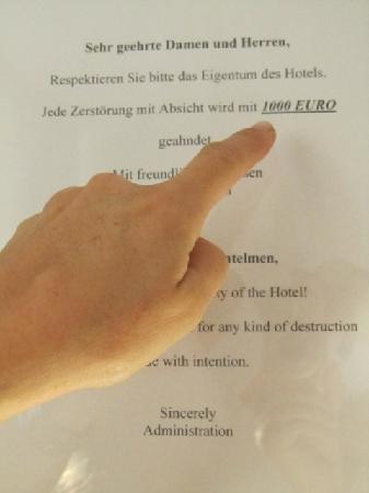 Berliner Hof : Strafgeld :)