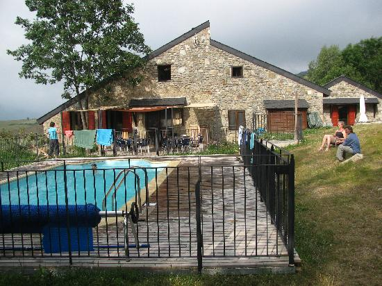 L'Orri de Planes: SwimmingPool solar heated