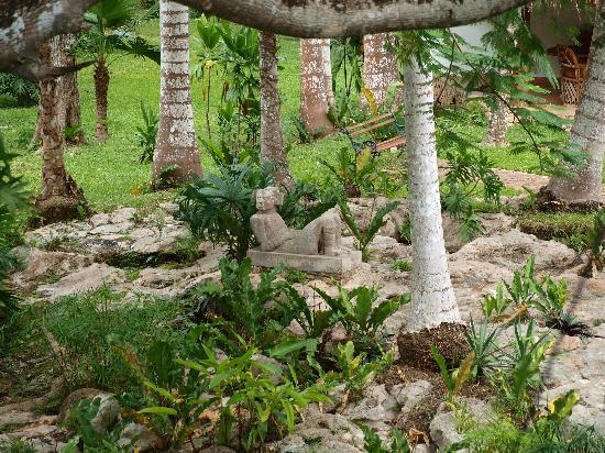 Hotel & Bungalows Mayaland : the amazing gardens of Mayaland.