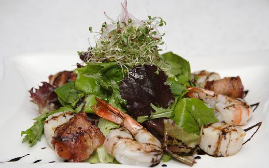 Haru Sushi Bar: Seefood Salad