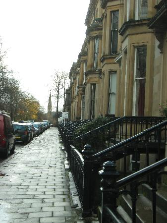 The Belhaven Hotel: Belhaven Terrace, Street view