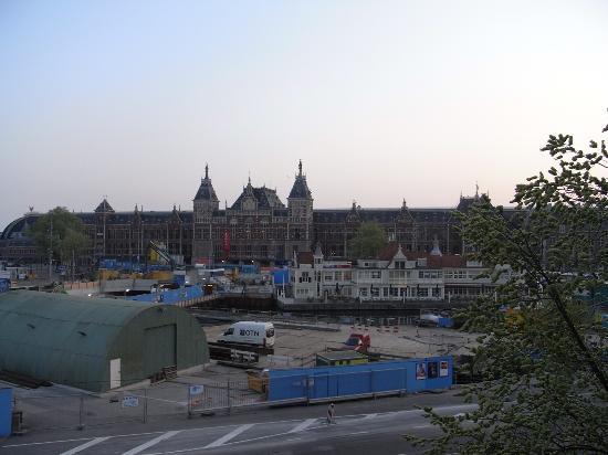 Hotel Prins Hendrik: 部屋の窓からの景色
