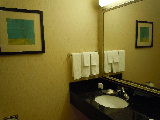 Fairfield Inn & Suites Boise Nampa: clean bathroom