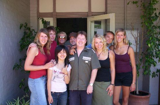 One World Backpackers: Some of the gang