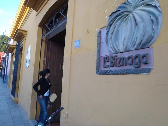 La Biznaga : Front