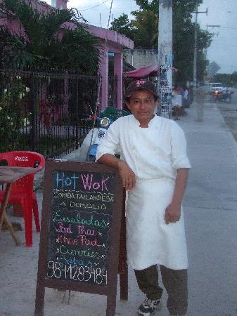 Hot Wok Thai Food: el gran chef