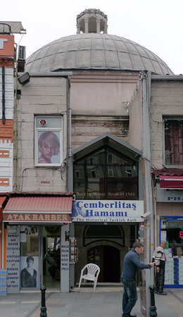 Çemberlitaş Hamamı: Cemberlitas Hamani from outside