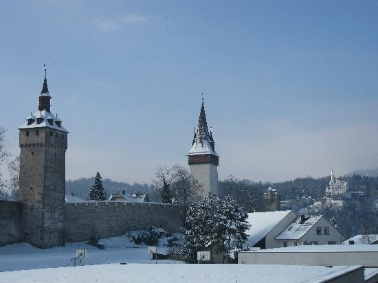 Old Medieval Wall of Lucerne