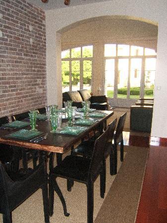 Castel Morin : Salle à manger