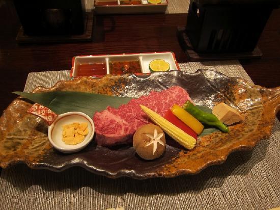 Taketoritei Maruyama: Kobe steak cuisine