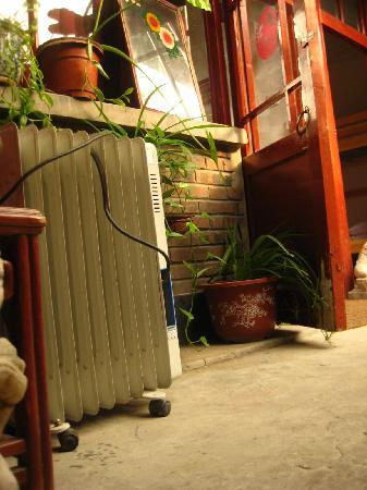 Beijing Wohkoon Hostel-Nan Luo Gu Xiang Branch: portable heater for the room in the winter