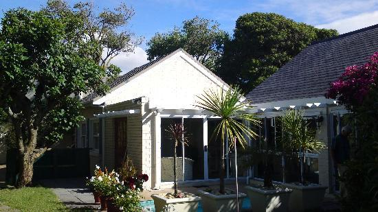 Cape Hermitage Guesthouse : Eingang