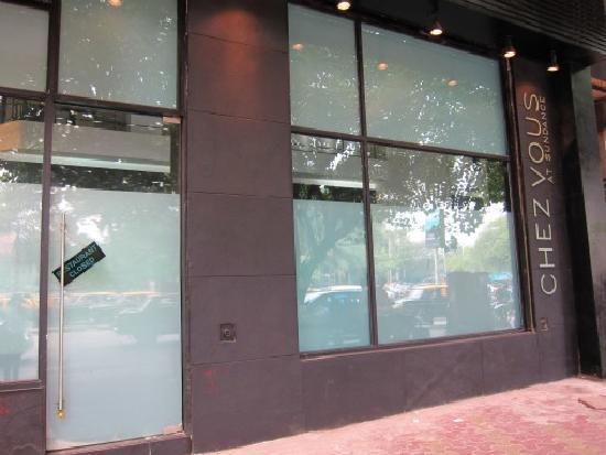 Chez Vous: The facade