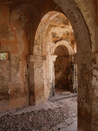 Kilwa Kisiwani: mosquée du 15ème siècle