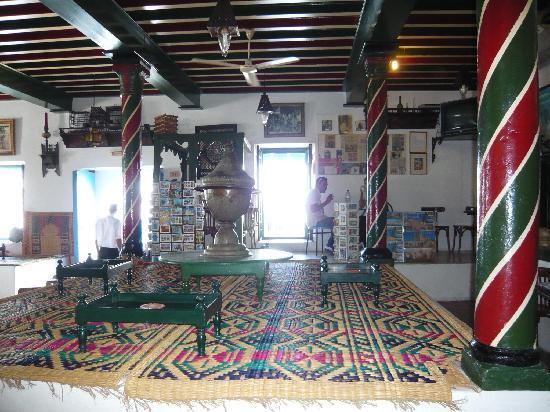 Sidi Bou Said, Tunisie : カフェ・デ・ナットの店内