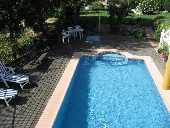 Casa la Parra: The pool