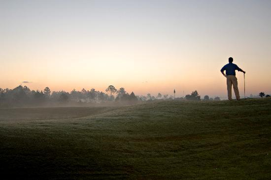 Daytona Beach, Flórida: Early morning tee time