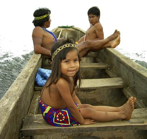 Adventures Panama : Embera Natives at Chagres National Park
